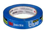 3M - Fita Crepe Blue Tape 2090 Scotch 24mm x 50m